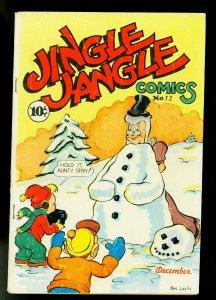 Jingle Jangle #12 1944- Famous Funnies- Funny Animals- VG+