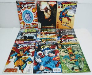 SUPERMAN Comic Lot of (15) ***FREE SHIPPING!***