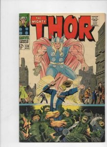 THOR #138, VF/NM, God of Thunder, Stan Lee, Jack Kirby, 1967, more Thor in store
