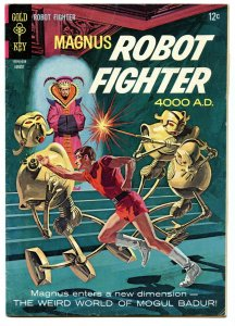 Magnus Robot Fighter 15 Aug 1966 VG/FI (5.0)