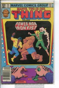 MARVEL TWO-IN-ONE (1974 MARVEL) #94 VG+ 006598