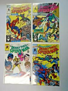 Deadly Foes of Spider-Man set #1 to #4 all 4 different books 8.0 VF (1991)