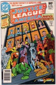 Justice League of America   vol. 1   #195 GD JSA