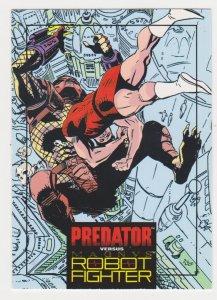 1992 Wizard Predator versus Magnus Robot Fighter #4