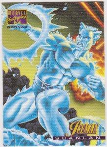 1995 Marvel Masterpieces Canvas #10 Iceman