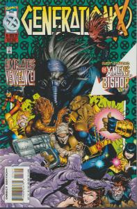 GENERATION X #14 - X-MEN DELUXE - BISHOP - , MARVEL - BAGGED & BOARDED