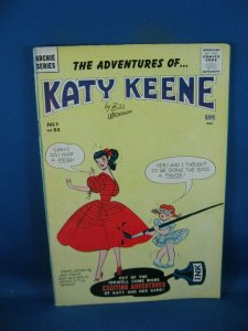 KATY KEENE 53 VG F PAPER DOLLS INTACT 1960 ARCHIE