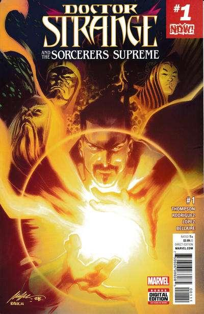Doctor Strange and the Sorcerers Supreme #1, NM (Stock photo)