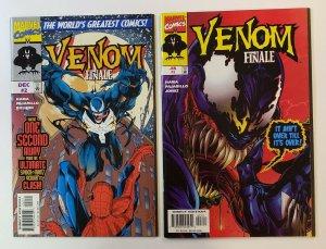 Venom: Finale #1-3 Complete Set Marvel Comics 1997 NM