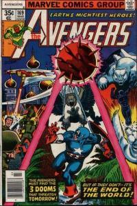 Avengers (1963 series) #169, VF+ (Stock photo)