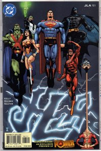 C Comics JLA #61 Superman, Batman, Wonder Woman, Flash -  Power Company Preview