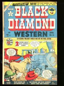 BLACK DIAMOND WESTERN #18 1950-COOL-WOLVERTON VG+