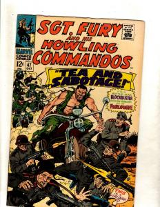 Sgt. Fury & His Howling Commandos # 47 VF Marvel Comic Book WW2 Hitler Nazis FM5