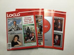 Locus Magazine 1973 384 385 387 389 391 392 393 Magazine Lot Vf 8.0 Locus Pub.
