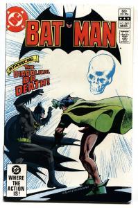 Batman #345 1982--DC comics Introducing Dr Death