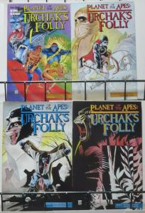 PLANET OF THE APES: URCHAK'S FOLLY (Adventure, 1991) #1-4 COMPLETE! Good human?