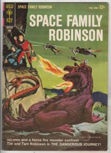 Space Family Robinson, Lost In Space #7 (Apr-64) FN/VF Mid-High-Grade Will Ro...