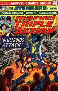 Marvel Triple Action (1972 series) #28, VF- (Stock photo)