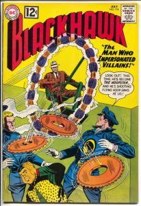 Blackhawk #174-1962-DC-Building That Went Berserk-Villain Impersonator-VF