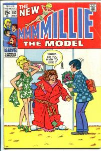 Millie The Model #182 1970-wacky cover- fashion page-VG-