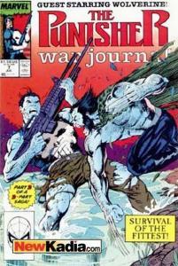 Punisher War Journal (1988 series) #7, NM- (Stock photo)