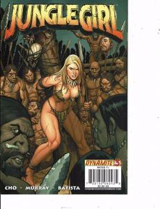 Lot Of 2 Jungle Girl Dynamite Comic Books #3 5  BH50