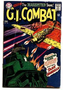 G.I. COMBAT #126 comic book-HAUNTED TANK-DC WAR
