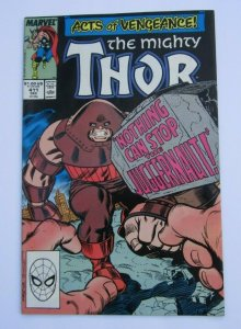 The Mighty Thor #411 VF+ Key Issue 1st App. New Warriors Marvel Comics 1989