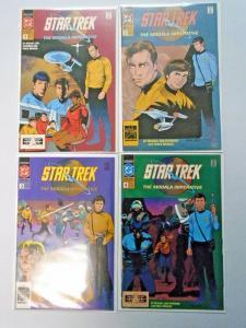 Star Trek The Modala Imperative set #1 to #4 - see pics - 8.0 - 1991