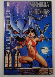 Vampirella Shadowhawk Book One VF Front/Back Cover Photos Harris 1995