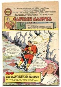 Captain Marvel Adventures #1145 1953-Golden Age remainder copy