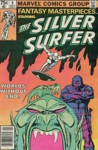 FANTASY MASTERPIECES #6, VF-, Silver Surfer, 1979 1980, Buscema, Marvel, UPC