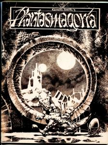 Phantasmagora #1 1971-Kenneth Smith-1st issue-professional looking fanzine-VF