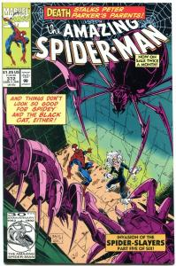 AMAZING SPIDER-MAN #372 1993-MARVEL COMICS VF/NM