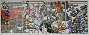 GI Joe vs. Transformers v3: Art of War ('06, DDP, of 5) All 16 Covers