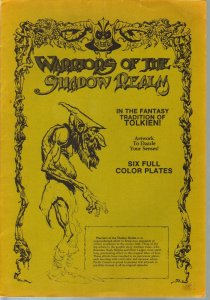 Warriors Of The Shadow Realm Portfolio 1979-Buscema-Tolien tradition-color print