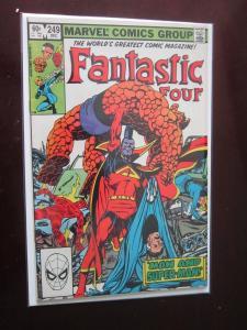 Fantastic Four #249 Direct - 8.0 - 1982