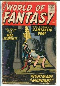 WORLD OF FANTASY #11 1958-ATLAS-HORROR-ANGELO TORRES ART-good+