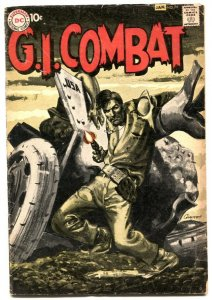 GI Combat #79 1959- great greytone cover- DC war comic VG