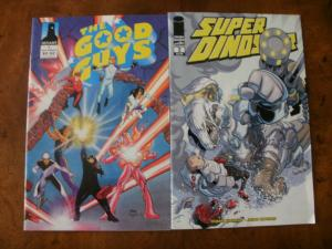 2 Comic Book: DEFIANT The Good Guys #1 & IMAGE Super Dinosaur #2