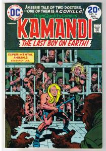KAMANDI #16, FN+, Jack Kirby, Last Boy on Earth, 1972, more JK in store