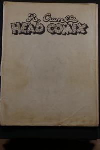 R. Crumb Head Comix First Printing March 1970