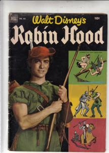 Four Color #413 (Aug-52) VG/FN Mid-Grade Robin Hood, Maid Marrion, Friar Tuck...