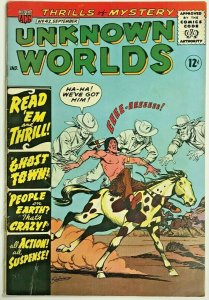 UNKNOWN WORLDS#42 VG/FN 1965 ACG SILVER AGE COMICS