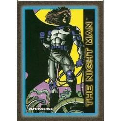 1993 Skybox Ultraverse: Series 1 THE NIGHT MAN #21