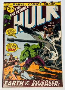 The Incredible Hulk #146 (Dec 1971, Marvel) FN 6.0 Doc Samson and Leader app