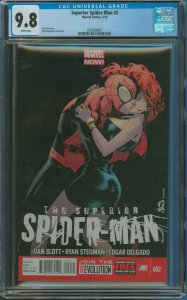 Surperior Spider-Man #2 CGC Graded 9.8