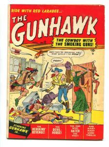 Gunhawk #12 1950- 1st issue- Maneely art- Atlas Western FN-
