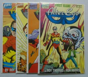 Alter Ego comic set:#1-4 6.0 FN (1986)