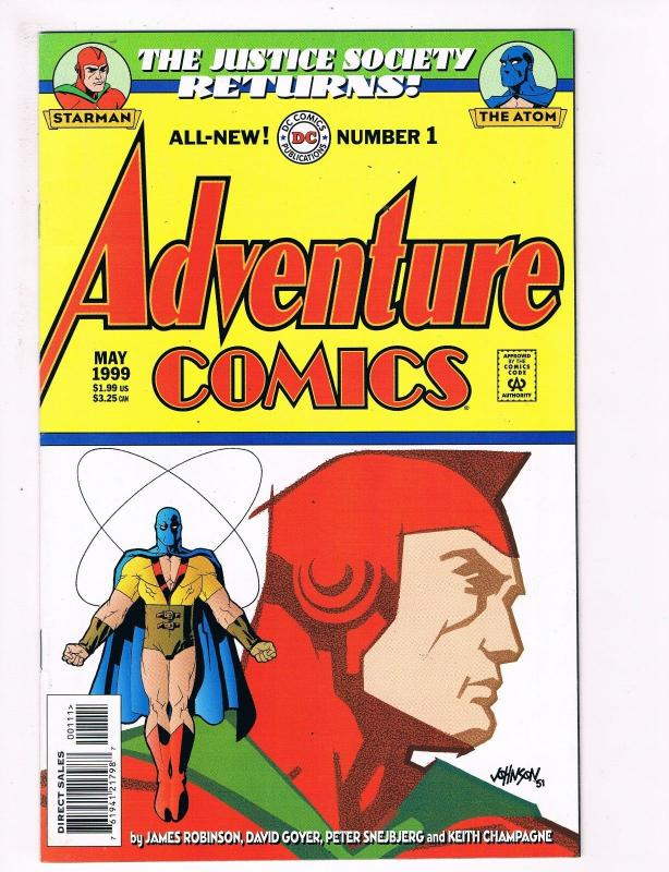 Adventure Comics # 1 DC Comic Books Awesome Issue Modern Age Justice Society S40